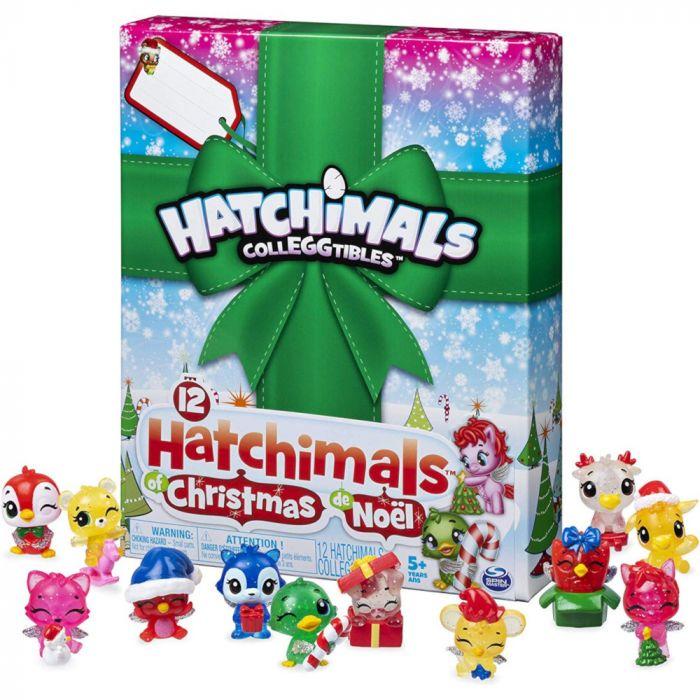 Hatchimals CollEGGtibles 12 Hatchimals of Christmas Advent Calendar
