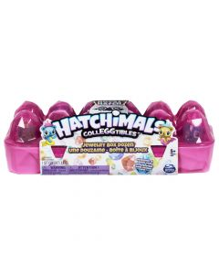 Hatchimals CollEGGtibles Jewelry Box 12-Pack Egg Carton with 2 Exclusive Hatchimals Assortment