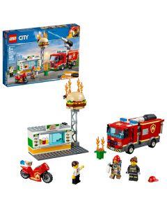 Lego City Burger Bar Fire Rescue