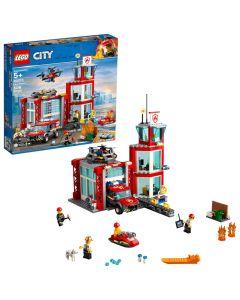Lego City Fire Station Building Kit