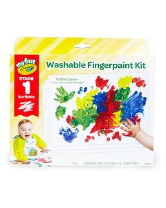 My First Crayola Washable Fingerpaint Kit Stage 1