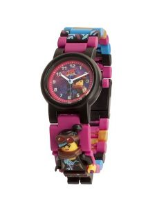 Lego Movie 2 Wyldstyle Kids Minifigure Link Buildable Watch