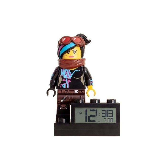Lego Movie 2 Wyldstyle Alarm Clock