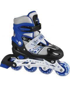 Adjustable Inline Skates - Blue