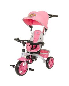 KidsEmbrace Paw Patrol Skye 4-In-1 Push And Ride Stroller Tricycle