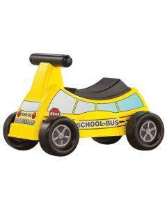 American Plastic Toy School Bus Ride-On