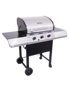 Thermos 3-Burner Propane Gas Grill- Stainless Steel
