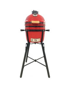 15' Kamado Grill Ceramic Kitchenware + Free BBQ Tool Set