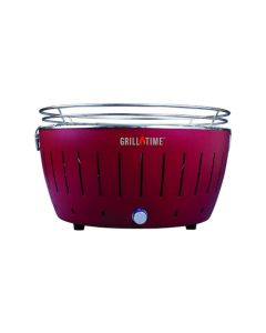 Grill Time UPGR18 BBQ Portable Party Grill Outdoor Camping - Red