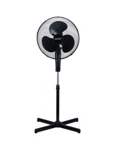 "Brentwood Koolzone 16"" Oscillating Fan- Black"