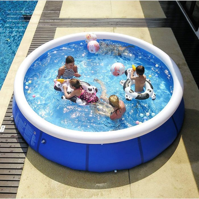 "Ninrya Inflatable 8' X 27"" Pool"