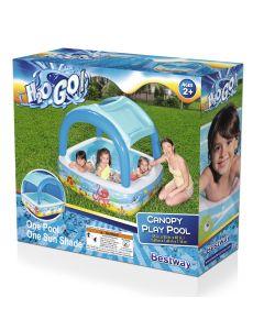 """H2OGO 55""""X55""""X45"""" Canopy Pool"""