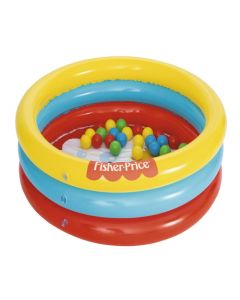 Fisher-Price 36 Inch x 10 Inch 3 Ring Ball Pit Play Pool