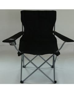 Black Folding Chair with Arms