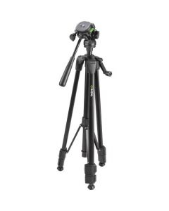 "Sima 58"" Pro Panorama Tripod including Zippered Carry Bag with Carry Strap - Black"