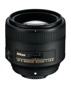 Nikon AF-S Nikkor 85mm f/1.8G Lens for Nikon Digital SLR Cameras - Black