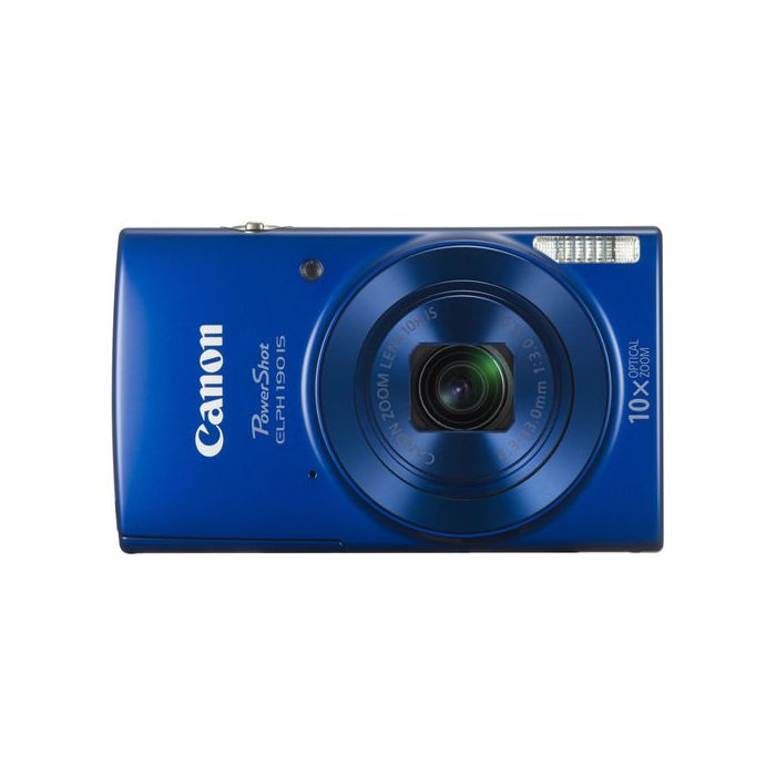 Canon PowerShot ELPH 190 IS Digital Camera / 20.0MP / 10x Optical Zoom - Blue