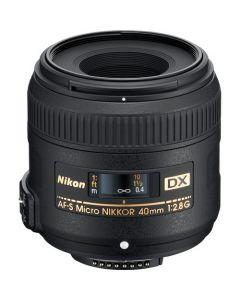 Lente 40mm f/2.8G AF-S DX Micro-Nikkor de Nikon 40MM/MICRO