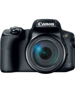 Canon PowerShot SX70 HS 20.3-Megapixel Digital Camera - Black