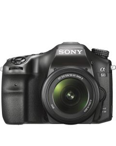 Sony Alpha Camera with 18-55mm Lens - Black