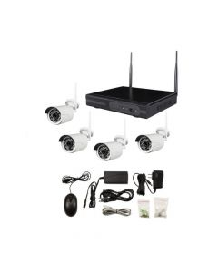Spyclops 4 Channel Wireless NVR Kit