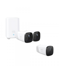 Eufy Bundle: eufyCam 2-Camera Indoor/Outdoor + Wi-Fi Wire-Free Add-On Security Camera