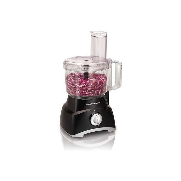 Hamilton Beach 70740 8-Cup Food Processor - Silver/Black