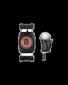 Nite Ize Steelie Magnetic FreeMount Vent Mount Kit - Silver and Black