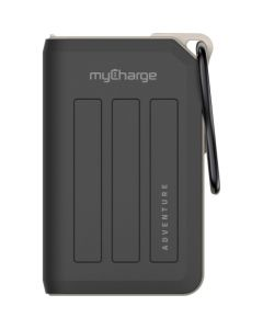 MyCharge Adventure Max 10,050mAh Portable Charger for Most USB-Enabled Devices - Black