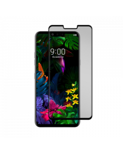 Gadget Guard Black Ice Cornice Curved Glass Screen Protector for LG G8 ThinQ - Clear