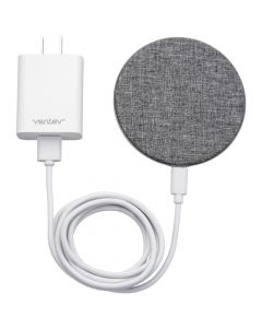 Ventev Fast Charging Wireless Charge Pad - Grey