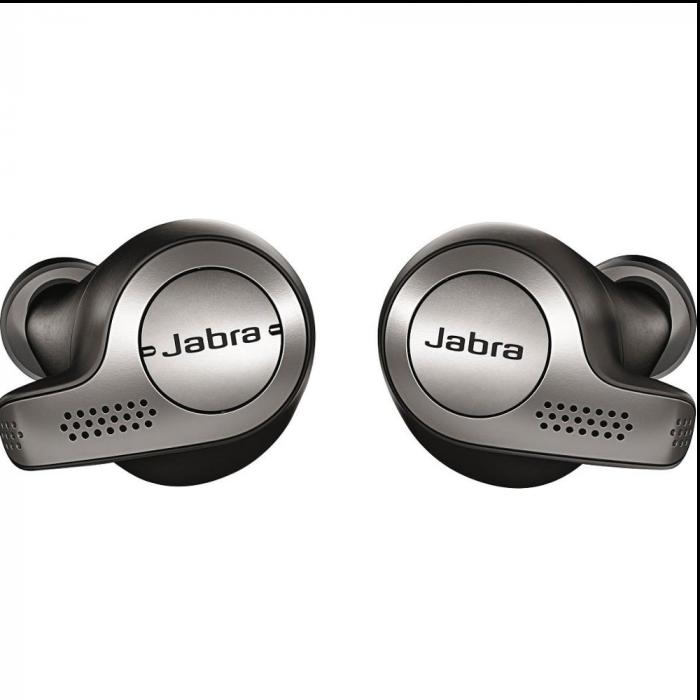 Jabra Elite 65t True Wireless Earbud Headphones - Titanium Black