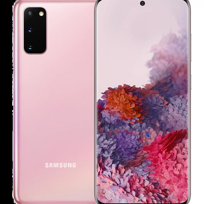 Samsung Galaxy S20 128GB Smartphone Unlocked - Pink