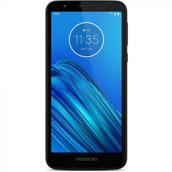 Boost Mobile Moto E6 - Black