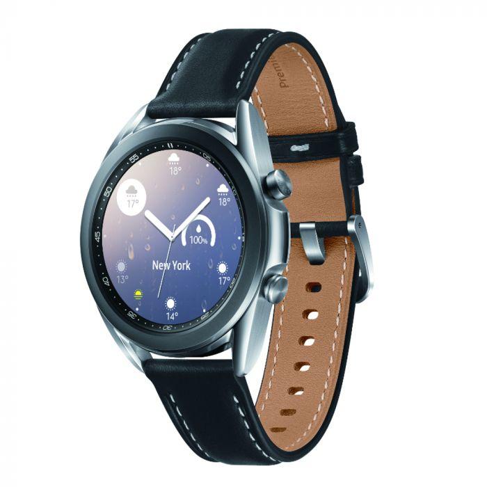 Samsung Galaxy Watch3 Smartwatch 41mm Stainless Steel - Silver