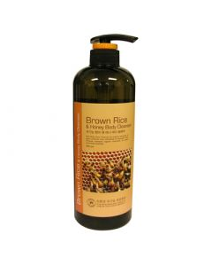 Hyssop Organic Brown Rice and Honey Body Cleanser