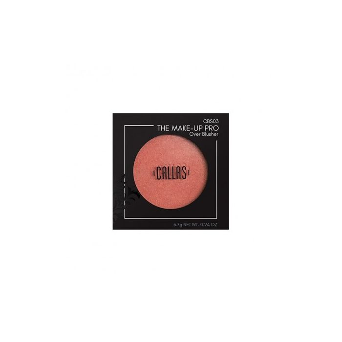 Callas The Make Up Pro Over Blusher 03 - Coral Peach