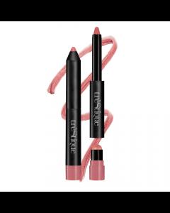 trèStiQue Matte Color & Shiny Moisturizing Balm Lip Crayon 2 in 1 - Florence Fig