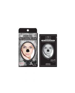Dearderm Charcoal Nose Pore Strip 10pc