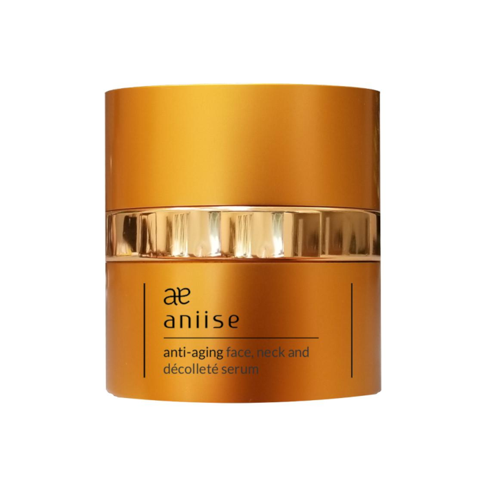 Aniise Anti-Aging Face Neck And Décolleté Serum 2 Oz