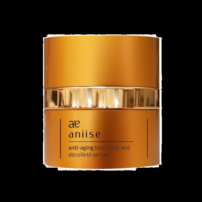 Aniise Anti-Aging Face Neck And Décolleté Serum 2 Oz