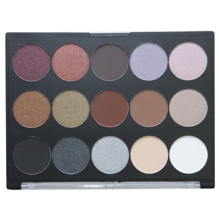 Aniise 15 Shade Eye Shadow Palette Neutral