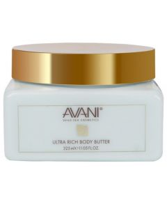 Avani 325 ml Dead Sea Ultra Rich Body Butter - Ocean