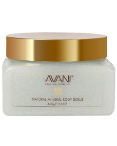 Avani 450g Dead Sea Natural Mineral Body Scrub - Orchid