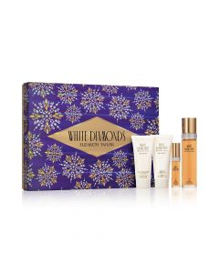 Elizabeth Taylor White Diamonds Gift Set 4 Piece