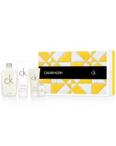 Calvin Klein Men's 4 Piece Gift Set