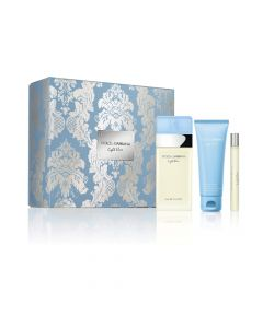 Dolce and Gabbana Women's 3PC Light Blue Gift Set