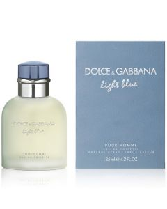 Dolce & Gabbana Light Blue Pour Homme Men's Eau de Toilette 4.2 oz.