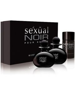 Michel Germain Sexual Noir Pour Homme 3 Piece Set