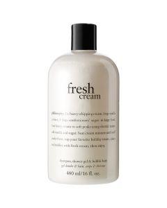 Philosophy Fresh Cream Shampoo, Shower Gel, and Bubble Bath